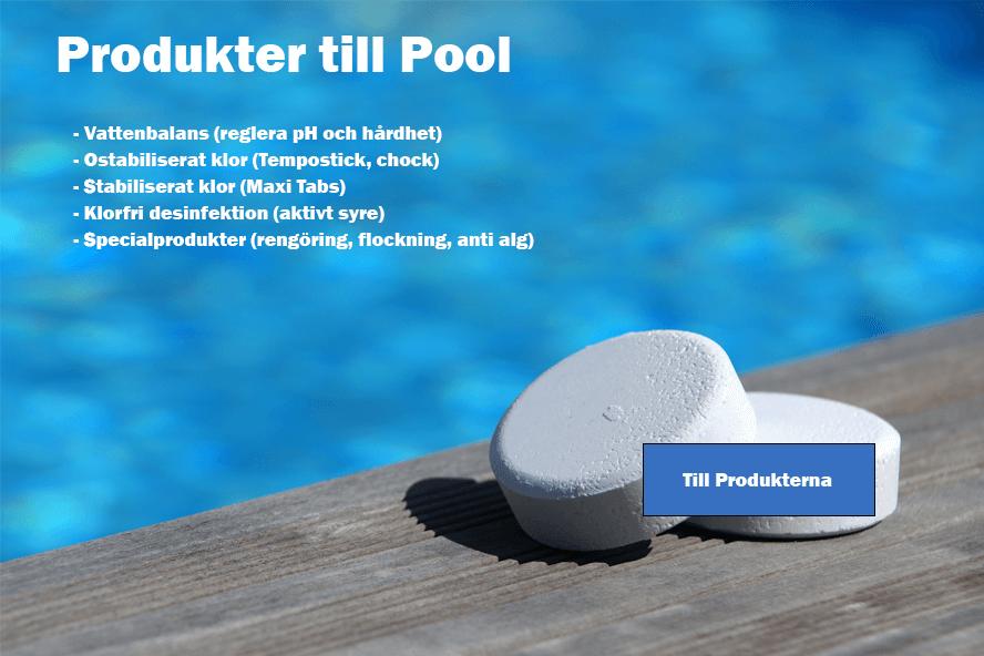 Produkter till Pool